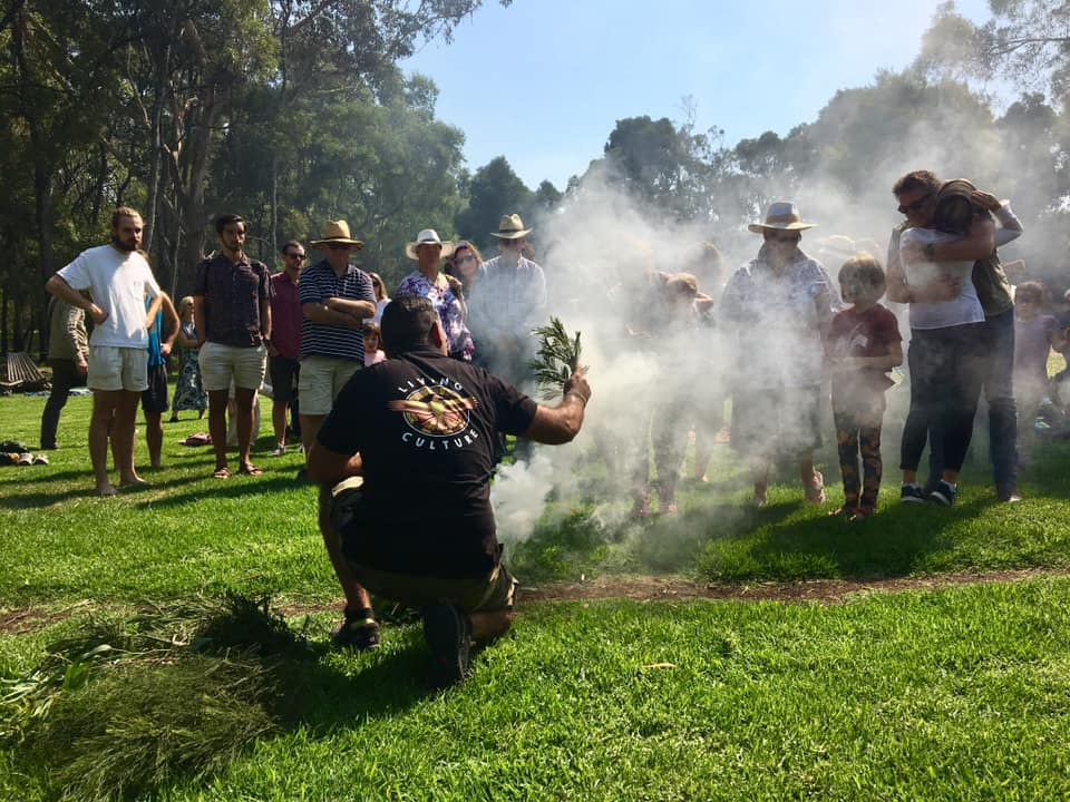 smoking ceremony Living culture indigenous aboriginal education mornington peninsula